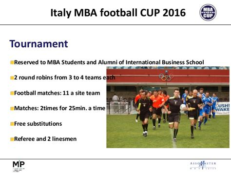 Mba Perugia by Mba Cup 2016 4 1 Ppt