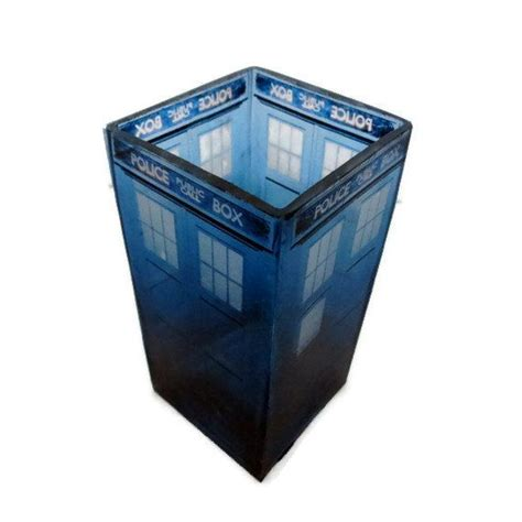 dr who home decor doctor who tardis candle holder geeky home decor home