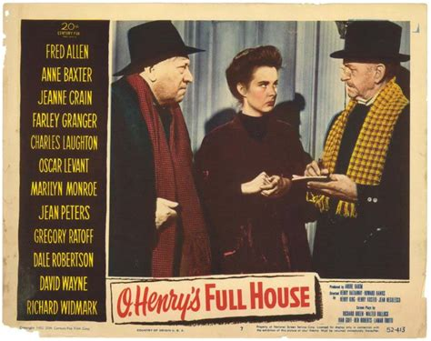 O Henry S House 1952 by Pelicula