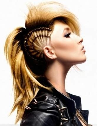 how to do punk hairstyles for long hair long punk hairstyles beautiful hairstyles