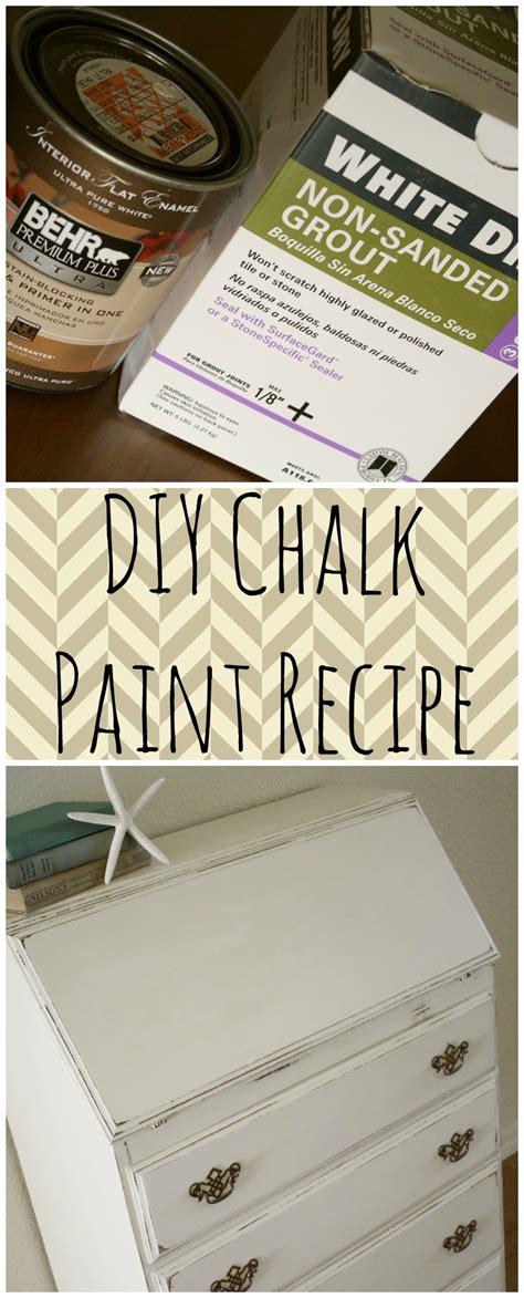 chalk paint recipe for furniture shabby desk diy chalk paint