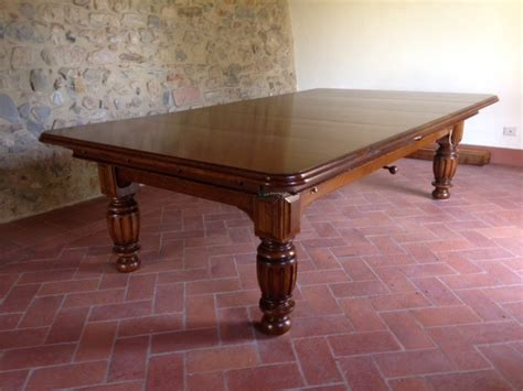 Antique Snooker Dining Table Antique 8ft Snooker Table By Smarts Traditional Dining