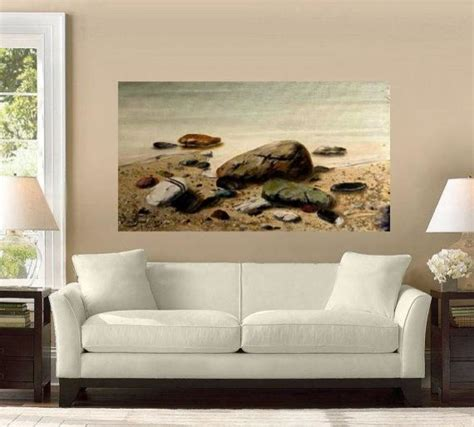 living room canvas paintings stones original handmade painting on canvas 70x110cm