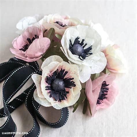 fiori di carta velina istruzioni bouquet fai da te