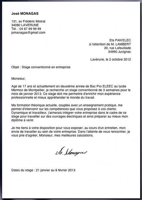 Présentation D Une Lettre De Remerciement exemple de lettre cv lettre de motivation animateur jaoloron