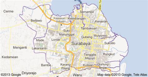 Lembaga Aqiqah Di Surabaya Sidoarjo Gresik free peta kota surabaya terbaru dedalstars