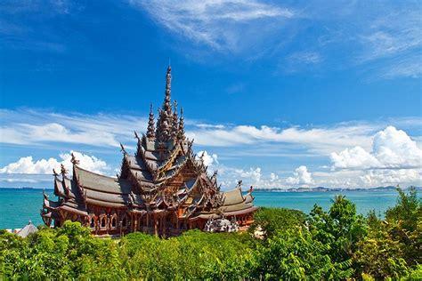 pattaya santuario  thailandia