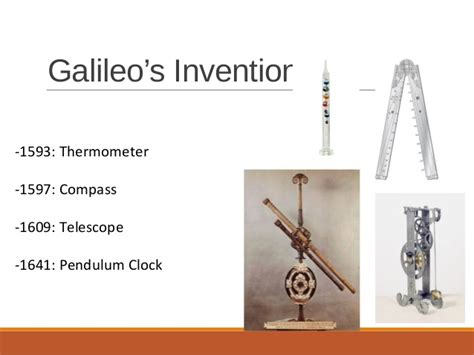 galileo galilei biography timeline the gallery for gt galileo inventions and discoveries list