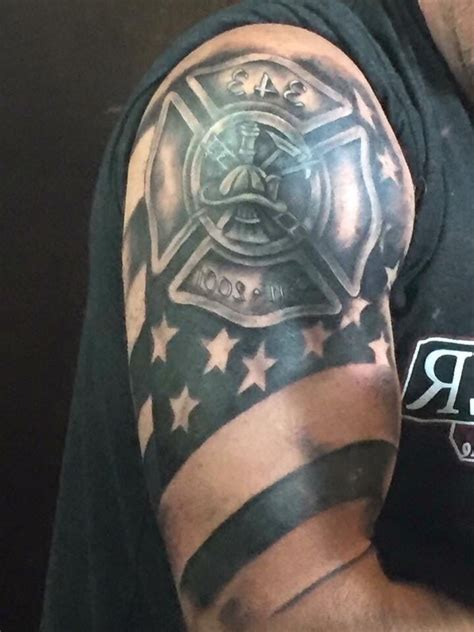 firefighter tattoos for men 17 best images about firefighter on
