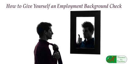 Employment Background Check For Myself Education Search Tips To Get A Competitive Edge Teachers