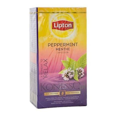 Teh Lipton Peppermint lipton mi苹ta peppermint 25 szt kuchniadoroty pl