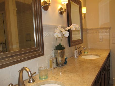 affordable custom bathroom vanity backsplash ideas