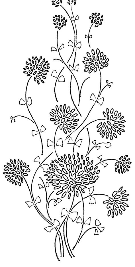 flower pattern outline outline pictures of flowers for glass painting modern house