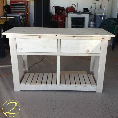 Diy Kitchen Island Table Diy Rustic Kitchen Crafts