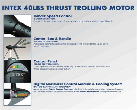 intex trolling motor for intex inflatable boats 36 shaft trolling motors intex trolling motors