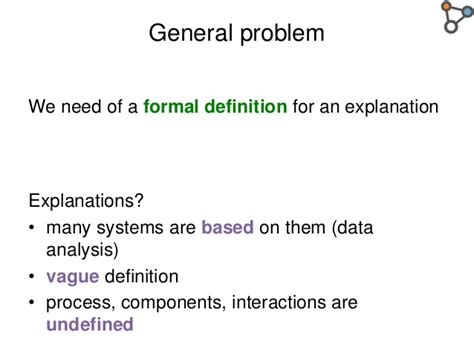 pattern definition fr an ontology design pattern to define explanations