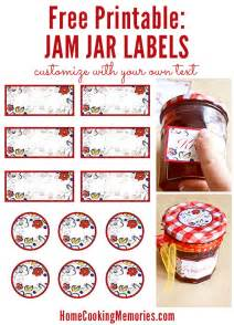 Free Jam Label Templates by Free Printable Jar Labels Use For Canning Jam