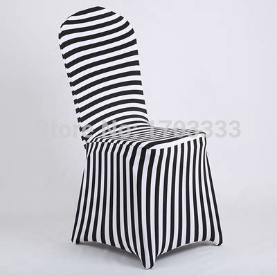 black and white stretch chair covers wholesale black and white stripe print spandex chair cover