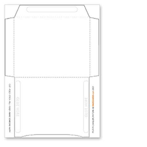 plain envelope template printable dadcando com making pages packed full of wonderful