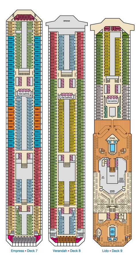 Carnival Triumph Floor Plan by Carnival Triumph Ship 2012 Mayan Galactic Alignment