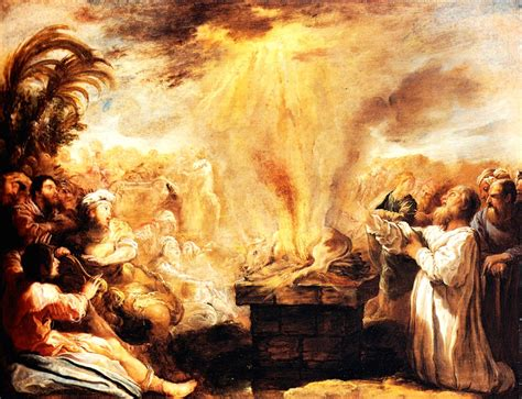 The Prophets Of Baal daily reading 19 may the fall of israel elijah and the