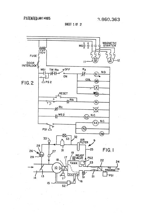 wiring diagram for stanley air compressor remote
