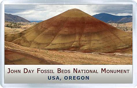 john day fossil beds national monument acrylic fridge magnet united states oregon john day