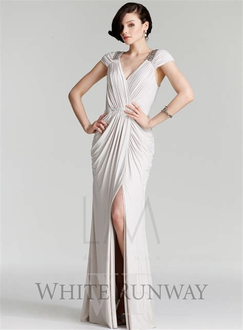 Crystal Drape Style Leader Grecian Inspired Dresses