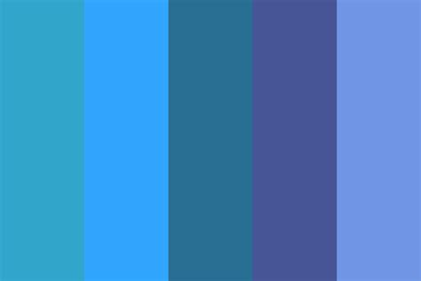 blue color palette shades of blue color palette images