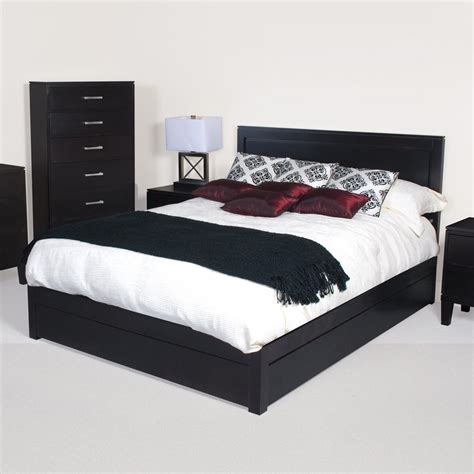 black headboard queen size bedroom metrojojo black