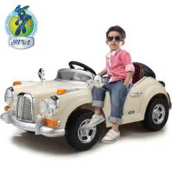 size 125x70x52cm 1 4 scale rc electric vintage car ride on with dual motors ride on