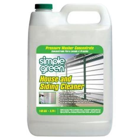 simple green  oz house  siding cleaner pressure