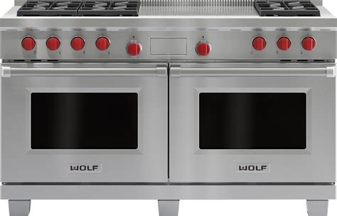 wolf ranges prices canada wolf kitchen equipment prices wolf 60 quot dual fuel double oven range stainless df606f