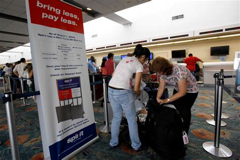 carry on fee how to avoid fees on spirit airlines wsj