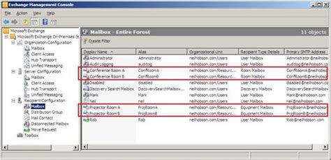 rooms to go exchange policy resource mailboxes in exchange 2010 part 1 management administration exchange 2010