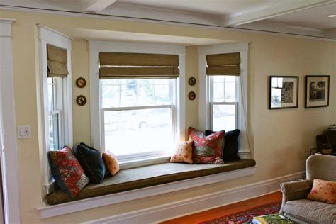 kitchen bay window seating ideas bay window seat for comfortable seating area at home