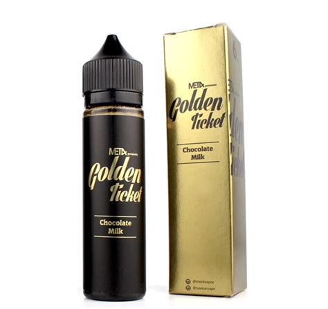 Liquid Met4 Golden Ticket met4 vapor golden ticket 60ml ゴールデンチケット