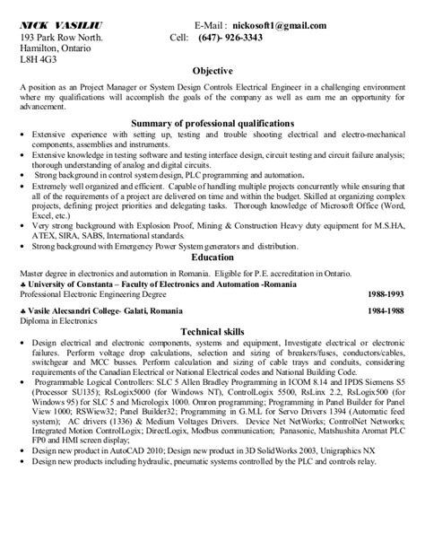 electrical engineer resume example foodcity me