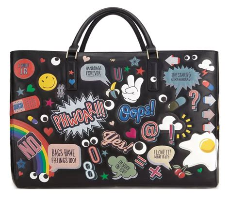 Pre Order Update From Anya Hindmarch On Bag That Isnt Plastic As Seen On Reese And Keira And Lilly anya hindmarch s cheeky resort 2016 accessories and