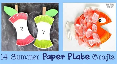 Paper Plate Crafts For Summer - 14 summer paper plate crafts cheer and cherry