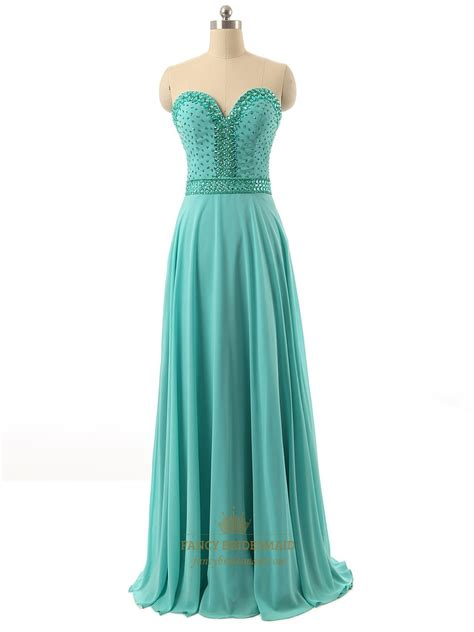 green beaded dress green strapless beaded bodice sweetheart neckline