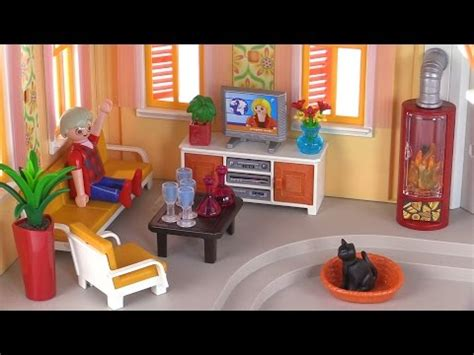 playmobil living room playmobil comfortable living room review set 5332 youtube