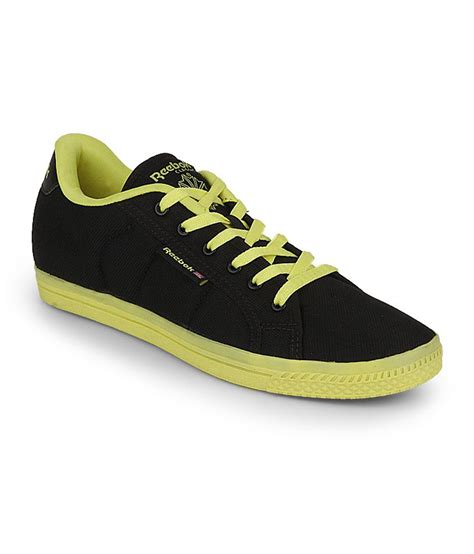 reebok black canvas casual shoes price in india buy