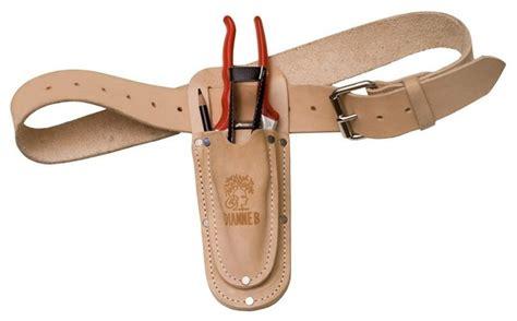 Gardening Utility Belt Leather Garden Tool Belt One Pocket Contemporary