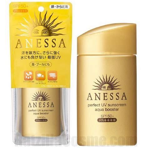 Shiseido Sunblock shiseido anessa uv sunscreen aqua booster spf50