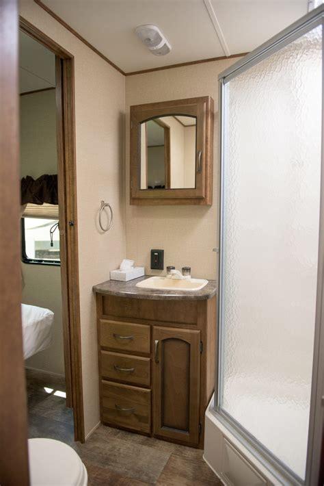 trailer bathrooms rentals rentals pine acres family cing resort