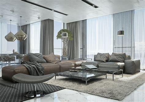 grau braun kombinieren einrichtung wohnzimmer ideen mit brauner f 252 r ein angesagtes