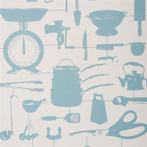 blue kitchen wallpaper uk airfix kitchen wallpaper duck egg by victoria eggs