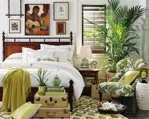 Island Themed Home Decor | tropical bedroom decorating ideas interior design