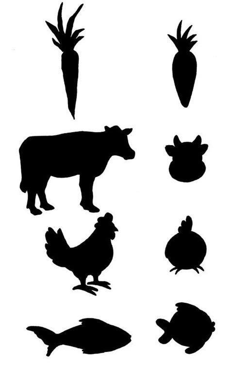 Cow Stickers For Place Cards